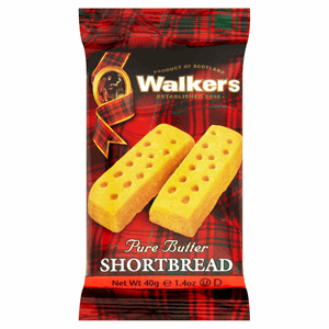 Walkers Pure Butter Shortbread 40g Image