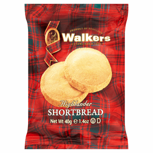 Walkers Highlander Shortbread 40g Image