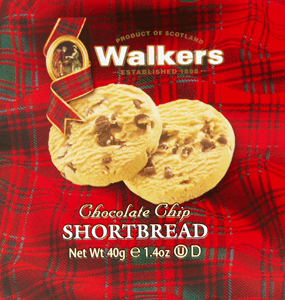 Walkers Chocolate Chip Shortbread 40g Image
