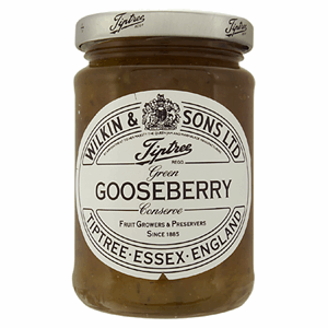 Wilkin & Sons Ltd Tiptree Green Gooseberry Extra Jam 340g Image
