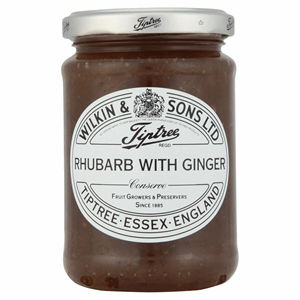 Wilkin & Sons Ltd Tiptree Rhubarb with Ginger Extra Jam 340g Image