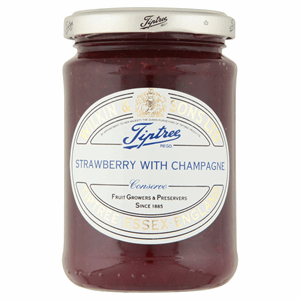 Wilkin & Sons Ltd Tiptree Strawberry with Champagne Extra Jam 340g Image
