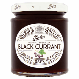 Wilkin & Sons Ltd Tiptree Blackcurrant Reduced Sugar Jam 200g Image