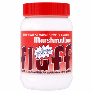 Fluff Artificial Strawberry Flavour Marshmallow 213g Image