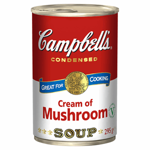 Campbell's Condensed Cream of Mushroom Soup 295g Image