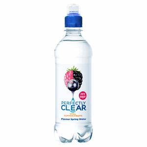 Perfectly Clear Still Natural Spring Water Summer Fruits 500ml Image