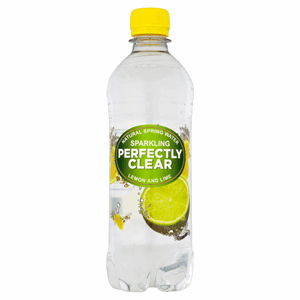 Perfectly Clear Sparkling Natural Spring Water Lemon and Lime 500ml Image