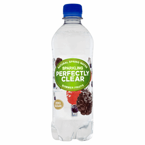 Perfectly Clear Sparkling Natural Spring Water Summer Fruits 500ml Image