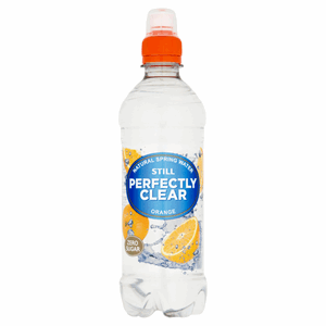 Perfectly Clear Limited Edition Still Orange Natural Spring Water Orange 500ml Image