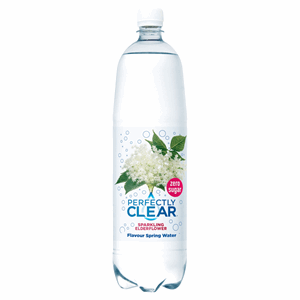 Perfectly Clear Sparkling Natural Spring Water Elderflower 1.5L Image