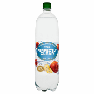 Perfectly Clear Still Natural Spring Water Red Apple 1.5L Image