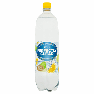 Perfectly Clear Still Natural Spring Water Lemon and Lime 1.5L Image