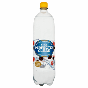 Perfectly Clear Still Natural Spring Water Summer Fruits 1.5L Image