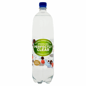 Perfectly Clear Sparkling Natural Spring Water Summer Fruits 1.5L Image