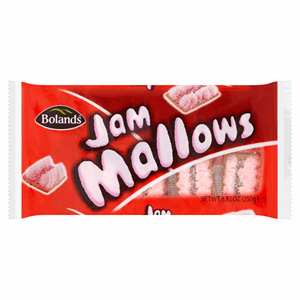 Bolands Jam Mallows 250g Image