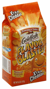 Pepperidge Farm Goldfish Blasted 187g Image
