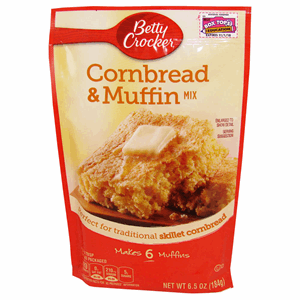 Betty Crocker Cornbread & Muffin Mix 184g Image