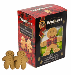 Walkers 3D Mini Gingerbread Men 150g Image