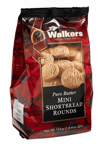 Walkers Mini Bag Shortbread Rounds 125g Image