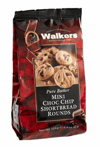 Walkers Mini Bag Choc Chip Shortbread 125g Image