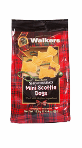Walkers Mini Bag Scottie Dogs 125g Image