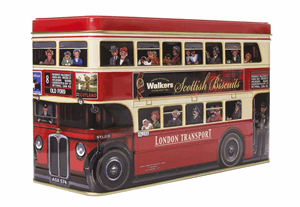 Walkers London Bus Tin 450g Image