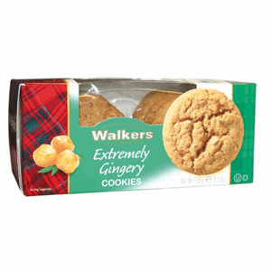 Walkers Cookies Extreme Ginger 150g Image