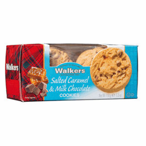 Walkers Salted Caramel and Milk Chocolate Cookies Image
