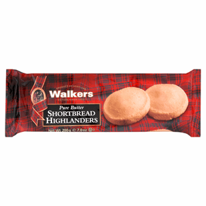 Walkers Pure Butter Shortbread Highlanders 200g Image