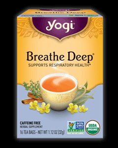 Yogi Tea Breathe Deep Teabags Image