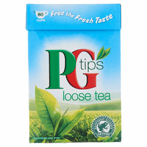 PG tips 80 Cups Loose Tea 250g Image