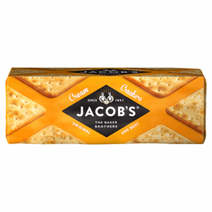 Jacob's Cream Crackers 200g Image