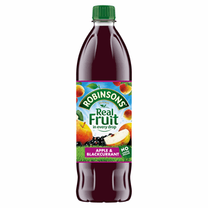 Robinsons No Added Sugar Apple & Blackcurrant 1L Image