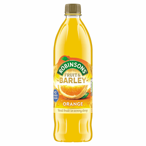 Robinsons No Added Sugar Fruit & Barley Orange 1 Litre Image