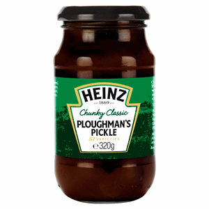 Heinz Chunky Classic Ploughman's Pickle 320g Image