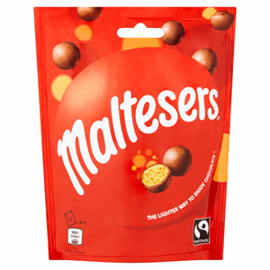 Maltesers Fairtrade Chocolate Pouch 93g Image