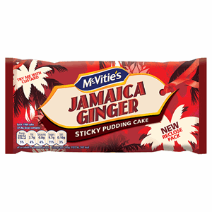 McVitie's Jamaica Ginger Sticky Pudding Cake Image