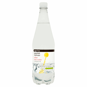 Essential Waitrose Sugar Free Indian Tonic Water 1 Litre Image