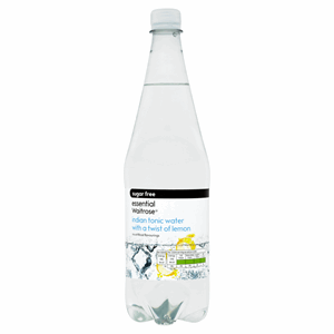 Essential Waitrose Sugar Free Indian Tonic Water with a Twist of Lemon 1 Litre Image