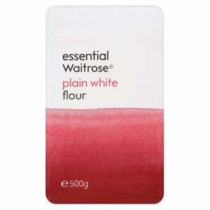 Essential Waitrose Plain White Flour 500g Image