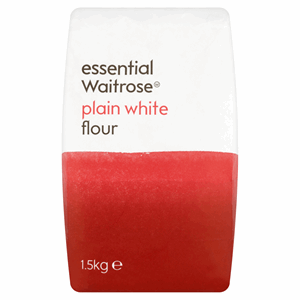 Essential Waitrose Plain White Flour 1.5kg Image