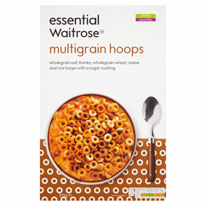 Essential Waitrose Multigrain Hoops 375g Image