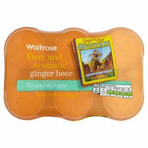 Waitrose Ginger Beer No Added Sugar 6 x 330ml Image