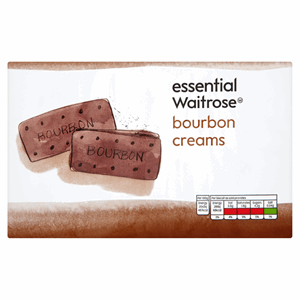 Essential Waitrose Bourbon Creams 400g Image