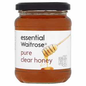Essential Waitrose Pure Clear Honey 454g Image
