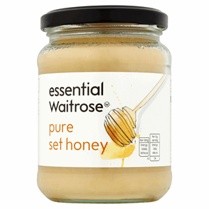 Essential Waitrose Pure Set Honey 454g Image