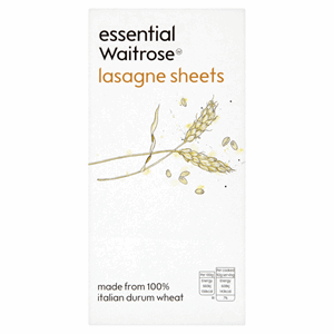 Essential Waitrose Lasagne Sheets 375g Image