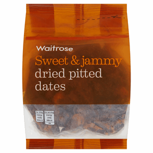 Waitrose Dried Pitted Dates 250g Image
