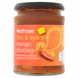Waitrose Hot & Spicy Mango Chutney 320g Image