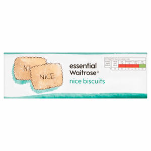 Essential Waitrose Nice Biscuits 250g Image